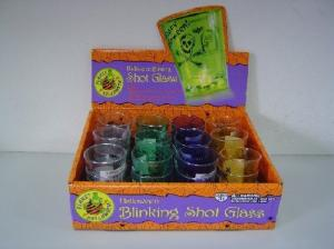 Holloween Blinking Shot Glass